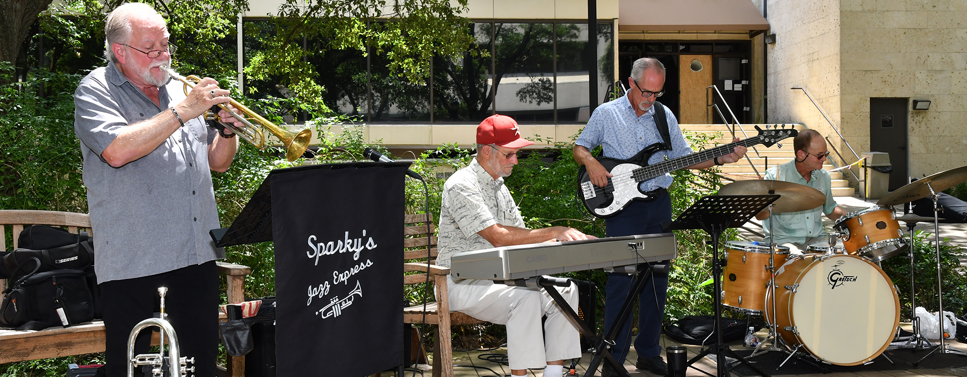 Sparky's Jazz Express at Arts & Resilience
