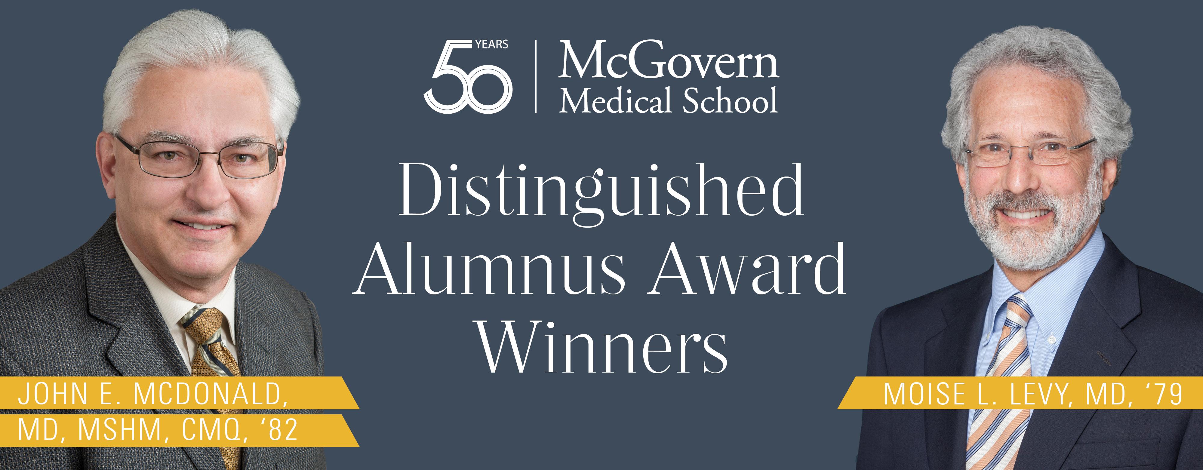 Distinguished Alumnus Award Winners