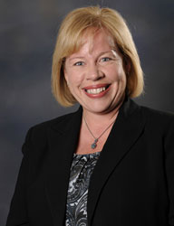 Chair of the Department of Pediatrics Mary Aitken