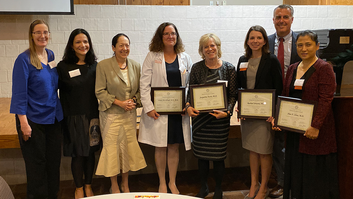 Awards from the Women's Faculty Forum