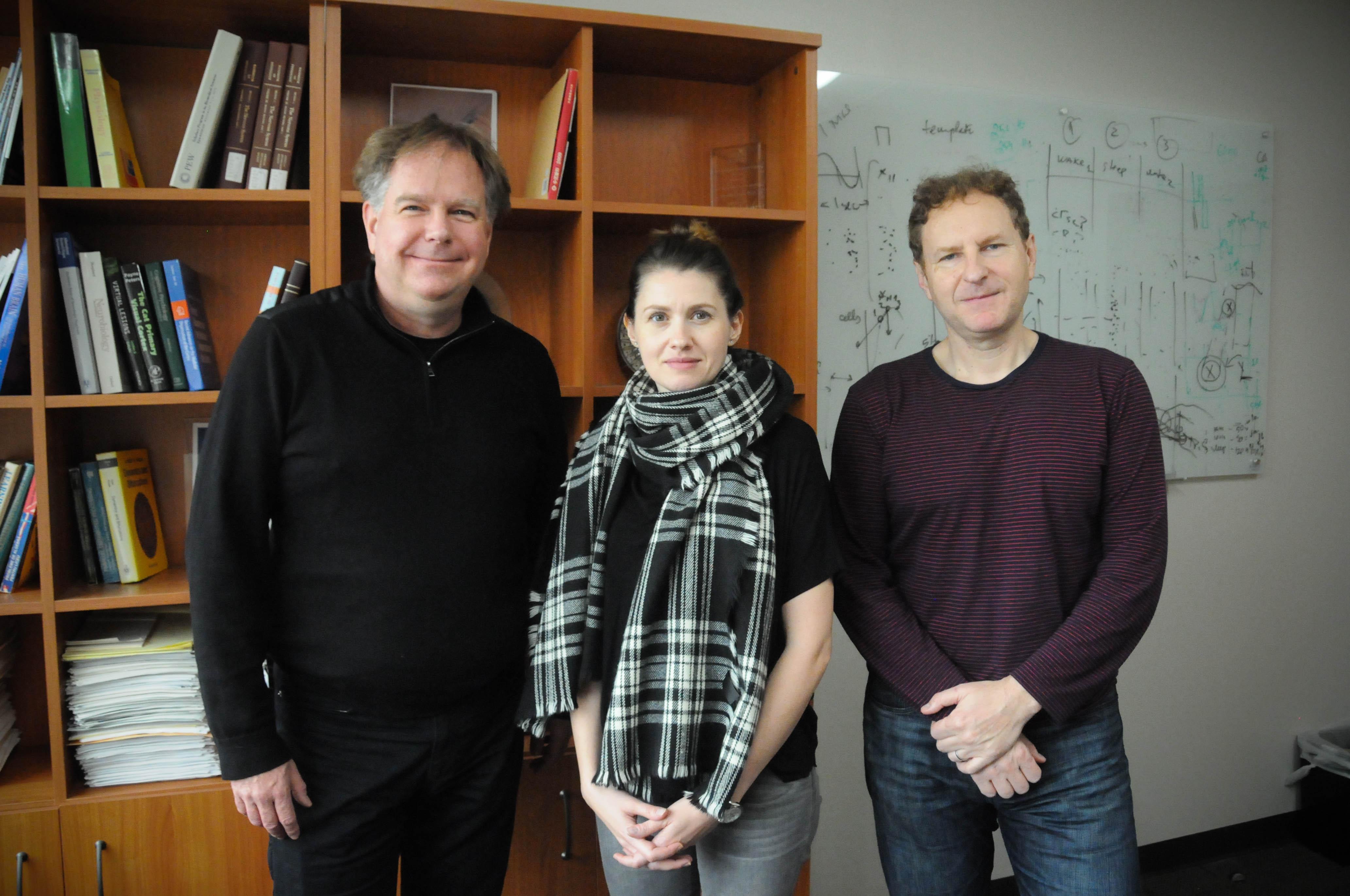 Roger Janz, Ariana Andrei, Valentin Dragoi
