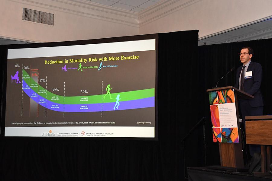 Dr. Siddharth Prakash speaks at The Houston Aortic Symposium
