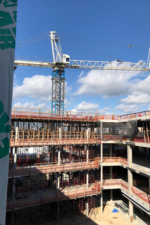 Continuum Care Building Construction