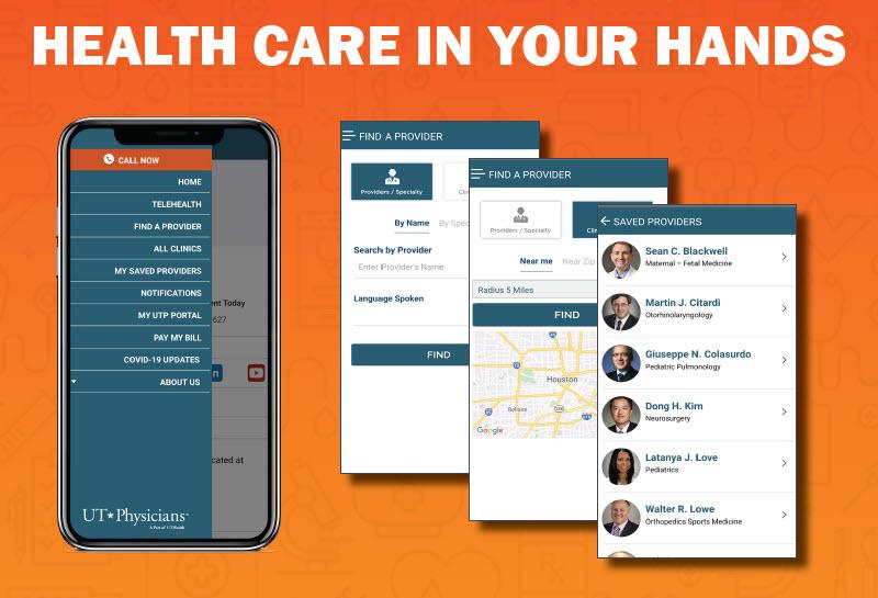 UT Physicians App