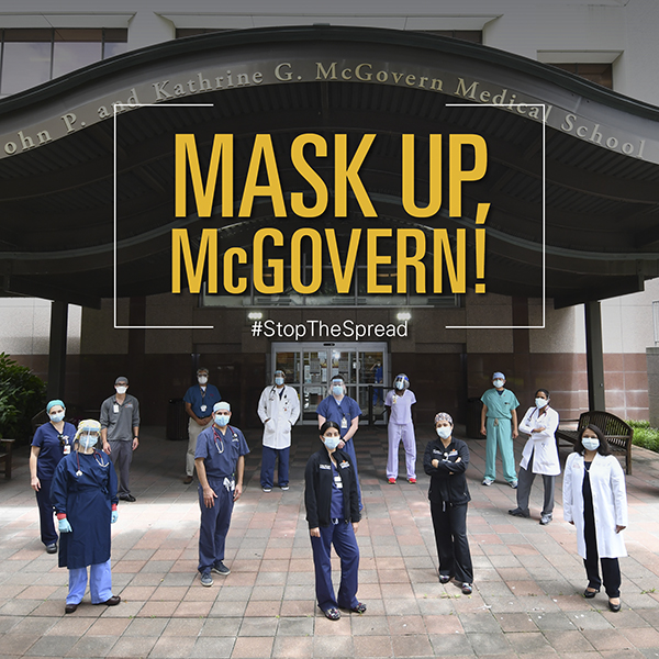Mask up McGovern