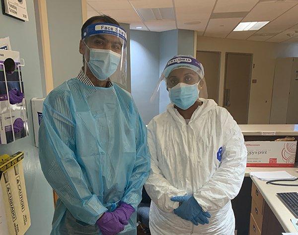 Dr. Lokesh Shahani and Nurse Roshan Cherian psychiatric care
