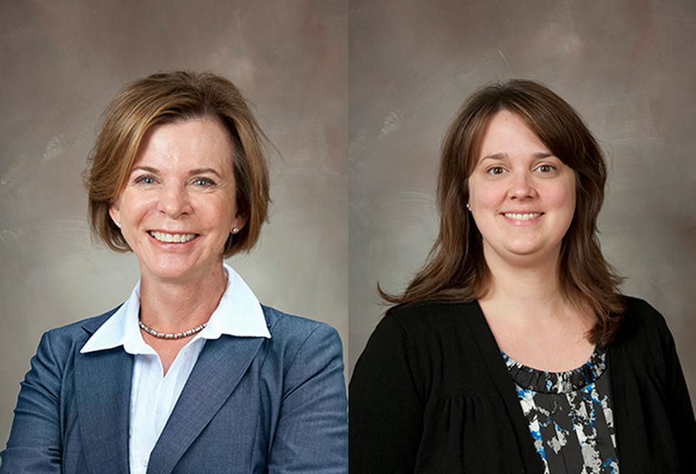 Drs Susan Landry and April Crawford