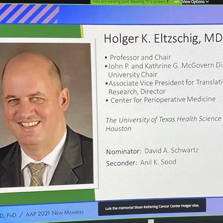 Dr. Holger Eltzschig