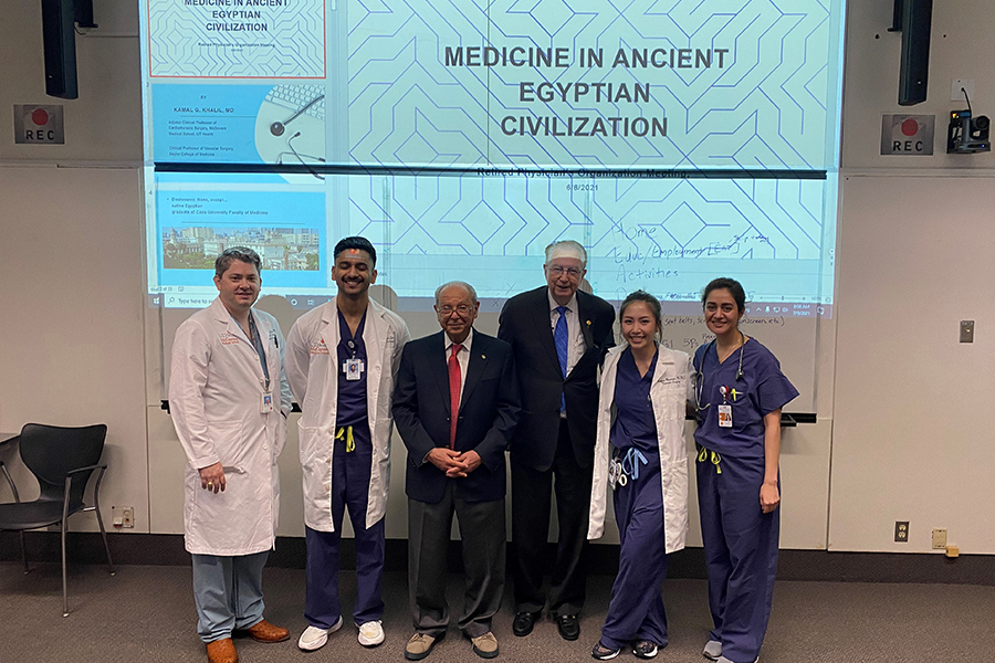 Medicine in Ancient Egypt Grand Rounds