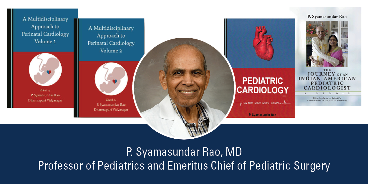 image from Rao pens 4 books reflecting on pediatric cardiology