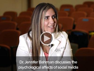 image for Dr. Jennifer Bahrman discusses the psychological affects of social media