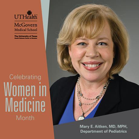 Dr. Mary Aitken - Women in Medicine Month