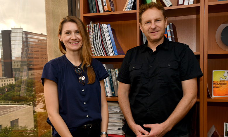 Drs. Ariana Andrei and Valentin Dragoi
